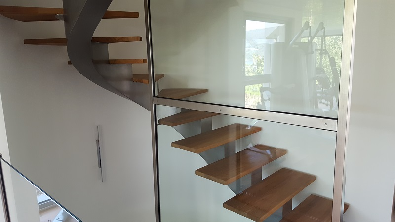 Les escaliers en fût - Atmosphere Metallique